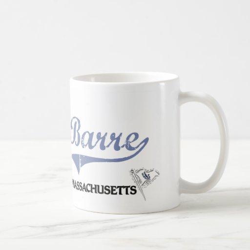 Barre Massachusetts City Classic Classic White Coffee Mug