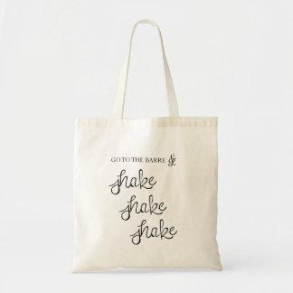 Barre - Shake Shake Shake - Tote Bag