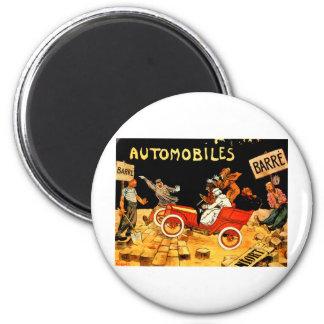 Barre ~ Vintage French Motor Car Advertisement Magnet