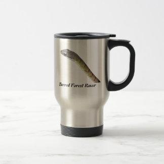 Barred Forest Racer 15 Oz Stainless Steel Travel Mug