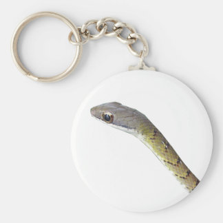 Barred Forest Racer Keychain