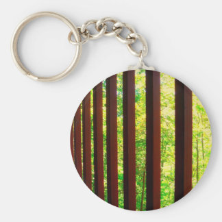Barred from Nature Key Chain