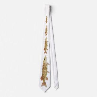 Barred Muskie Tie