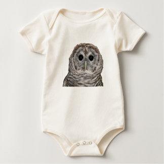 Barred Owl Baby Bodysuit