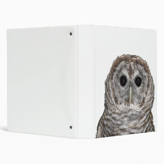 Barred Owl Binder