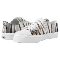 Barred Owl Feather Low Tops