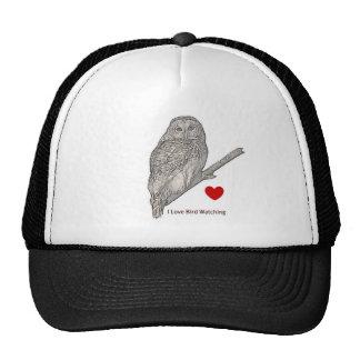 Barred Owl - I Love Birding Cap Trucker Hat