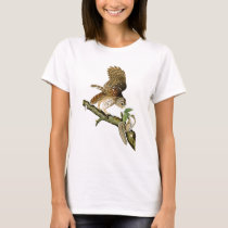 Barred Owl John James Audubon Birds of America T-Shirt
