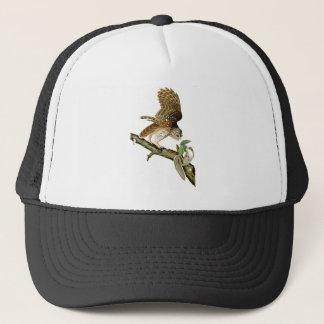 Barred Owl John James Audubon Birds of America Trucker Hat