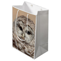 Barred Owl Medium Gift Bag