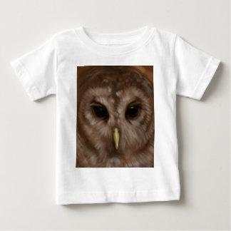 Barred owl painted art t-shirt