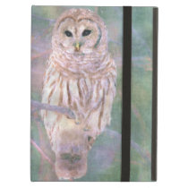 Barred Owl Pastel Oilpainting iPad Air Covers
