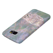 Barred Owl Pastel Oilpainting Samsung Galaxy S6 Case