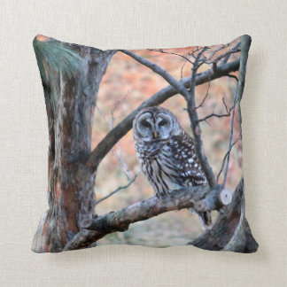 Barred Owl Pillow
