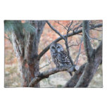 Barred Owl Place Mat