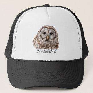 Barred Owl Portrait Trucker Hat