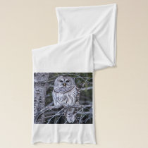 Barred Owl Scarf