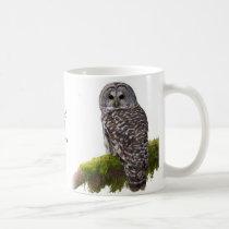 Barred Owl Strix varia Coffee Mug