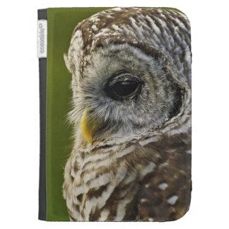 Barred Owl, Strix varia, Michigan Kindle 3G Cases