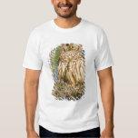 Barred Owl (Strix varia) perched in cypress tree T Shirt