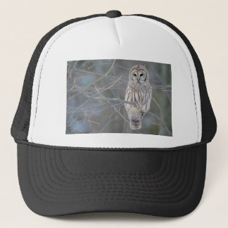 Barred Owl Strix Varia Trucker Hat