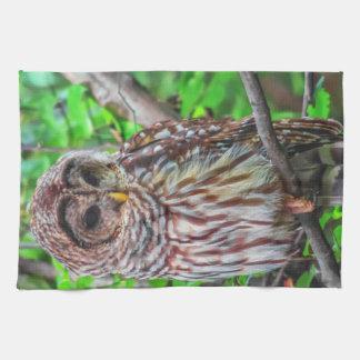 Barred Owl Towel