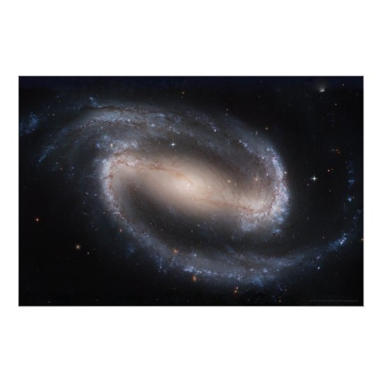 Barred Spiral Galaxy 30x20 (24x16) Poster
