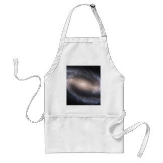 Barred Spiral Galaxy Adult Apron