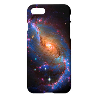 Barred Spiral Galaxy Astronomy Picture NGC 1672 iPhone 7 Case