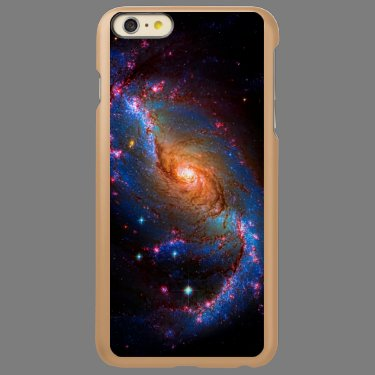 Barred Spiral Galaxy Astronomy Picture NGC 1672 Incipio Feather® Shine iPhone 6 Plus Case