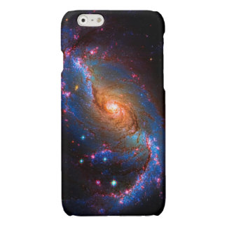 Barred Spiral Galaxy Astronomy Picture NGC 1672 Glossy iPhone 6 Case