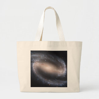 Barred Spiral Galaxy Canvas Bags