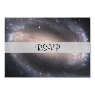 Barred Spiral Galaxy Card