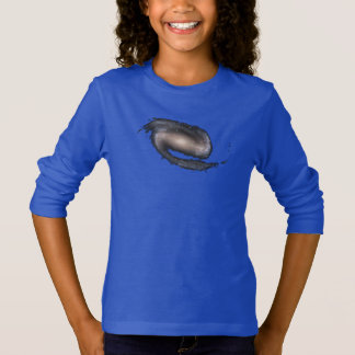 Barred Spiral Galaxy Glowing Space T-Shirt