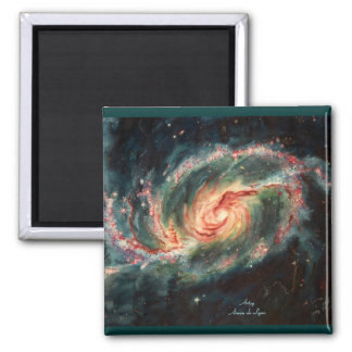 Barred Spiral Galaxy Magnet