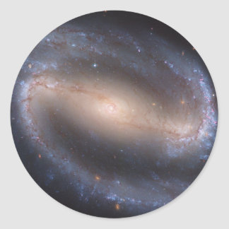 Barred Spiral Galaxy NGC 1300 Classic Round Sticker
