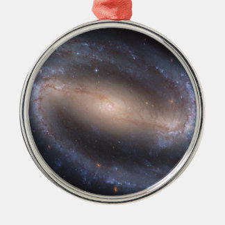 Barred Spiral Galaxy NGC 1300 Metal Ornament