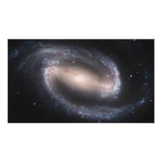 Barred Spiral Galaxy NGC 1300 Photo Print