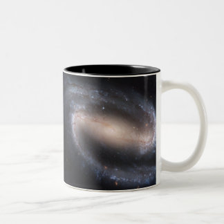 Barred Spiral Galaxy NGC 1300 Two-Tone Coffee Mug
