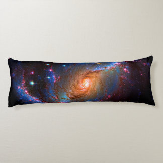 Barred Spiral Galaxy NGC 1672 Astronomy Picture Body Pillow