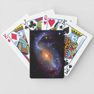 Barred Spiral Galaxy NGC 1672 Bicycle Playing Cards