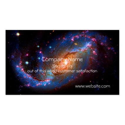 Barred Spiral Galaxy NGC 1672 Double-Sided Standard Business Cards (Pack Of 100)