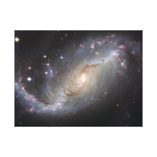 Barred Spiral Galaxy NGC 1672 Canvas Print