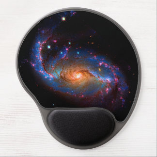 Barred Spiral Galaxy NGC 1672 Gel Mouse Pad