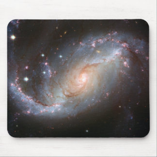 Barred spiral galaxy, NGC 1672 Mouse Pad