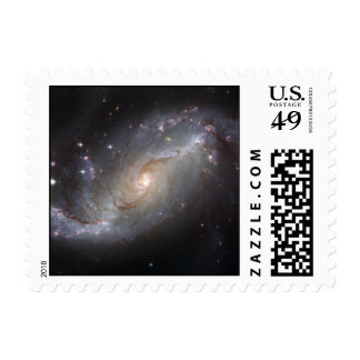 Barred Spiral Galaxy NGC 1672 Stamps
