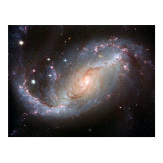 Barred spiral galaxy, NGC 1672 Postcard