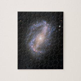Barred Spiral Galaxy NGC 6217, in Ursa Major Jigsaw Puzzle