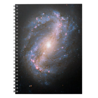Barred Spiral Galaxy Notebook