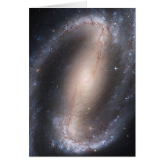 Barred Spiral Galaxy Stationery Note Card